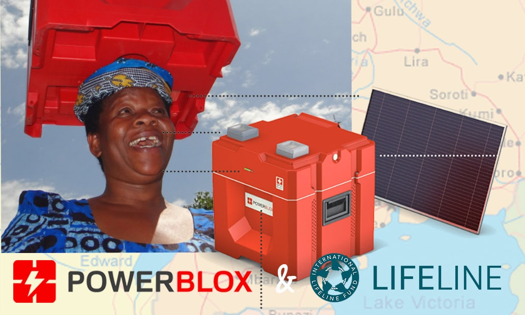 Power-Blox & Lifeline Kickoff Joint Project for Humanitarian Grand Challenge